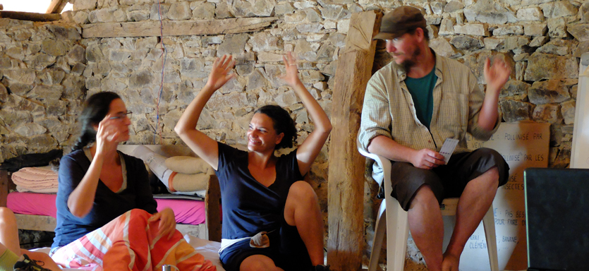 PDC stage permaculture La Graine Indocile OUMBI